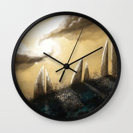 Ray of Light 3 Wall Clock