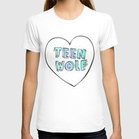 teen wolf T-shirts featuring TEEN WOLF by Sara Eshak