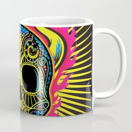 Flaming Skull Coffee Mug