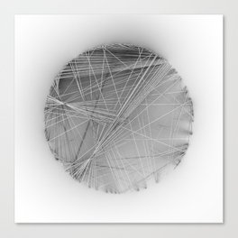 Wireframe Composition No. 14 Canvas Print