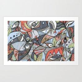 We See Art Print