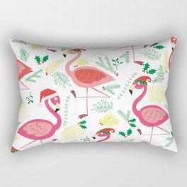 FLAMINGO CHRISTMAS Rectangular Pillow