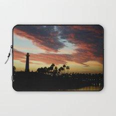 Sunset at Shoreline Aquatic Park Laptop Sleeve