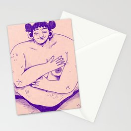 Fat Babe Club Stationery Cards