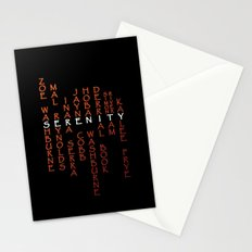 Part of the Crew Stationery Cards