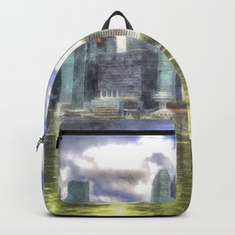 Singapore Marina Bay Sands Art Backpack