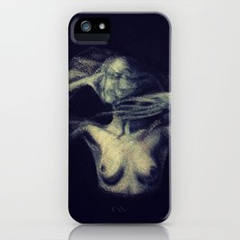 An Imprint (A Study of a Tortured Soul)  iPhone Case