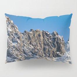 Fresh Snow-Alaskan Mountain Top Pillow Sham