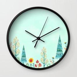 Meadow Wandering Wall Clock