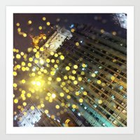 moscow Art Prints featuring moscow by xp4nder