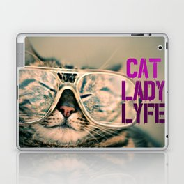 Cat Lady Lyfe Laptop & iPad Skin