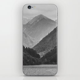Wilderness landscape iPhone Skin