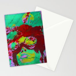 Coal miner lady VI Stationery Cards