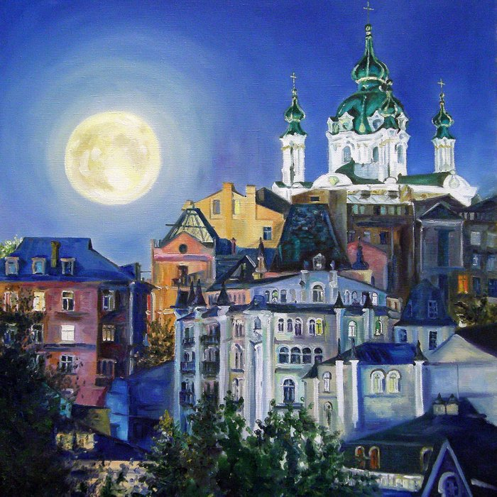 The church under the moon Comforters