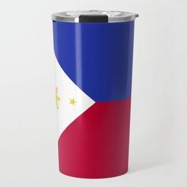Philippines flag emblem Travel Mug