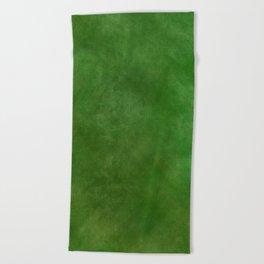 Green Ombre Beach Towel