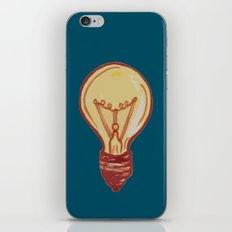 light bulb iPhone & iPod Skin