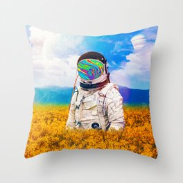 Another Lost Traveller Throw Pillow