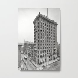 1906 Union Trust Bank Building, Providence, Rhode Island Metal Print