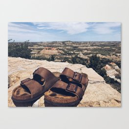 A Step in the Right Direction (aka Theodore Roosevelt NP) Canvas Print