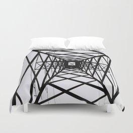 metal structure Duvet Cover