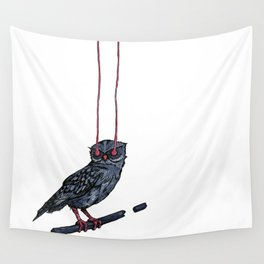 Athene Noctua Wall Tapestry