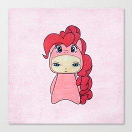 A Boy - Pinkie Pie Canvas Print