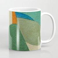 brasil Mugs featuring Caprichoso (Parintins - Brasil) by Fernando Vieira