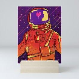 Rocket Man Mini Art Print