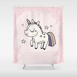 Unicorn sweety Shower Curtain