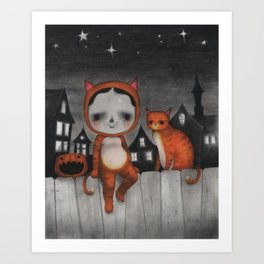 Best Buds Art Print