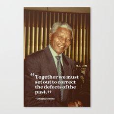 Inspirational Quotes - Motivational - 111 Nelson Mandela Canvas Print
