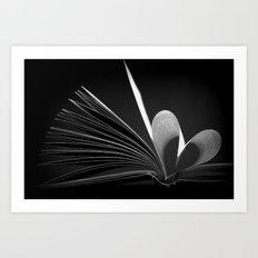Hamlet Heart Art Print