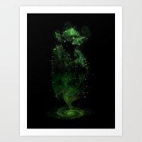jedi Art Prints featuring Jedi Constellation by OktopusSapiens