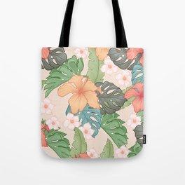 Sweet Pink Blooms Tote Bag