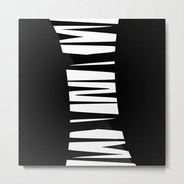 White Tornado Metal Print
