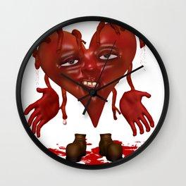 Bleeding Hearts .. gothic fantasy Wall Clock