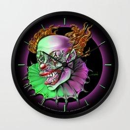 Evil Clown by Spano Wall Clock