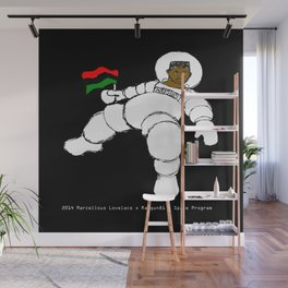 2014 RayGun81 Space Program (American Poverty + Fray and Tay) Wall Mural