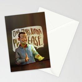 One Marijuana Please Stationery Cards