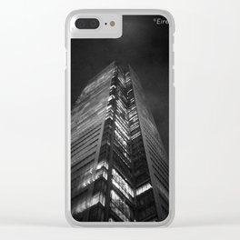 Gotham (K)NIGHT Clear iPhone Case
