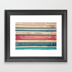 Childhood  memories Framed Art Print