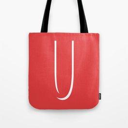 The Letter U Tote Bag