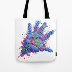 Nature VS Human Tote Bag