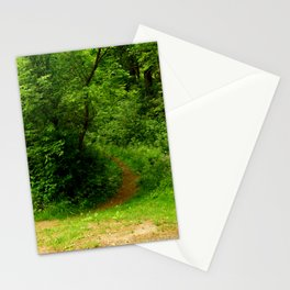 In to the Trail Stationery Cards