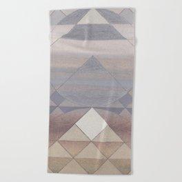 Pyramid Sun Fog Beach Towel