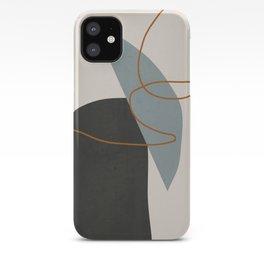 Minimal Abstract Art 3 iPhone Case