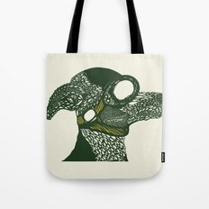 Dog likes to fly planes Tote Bag