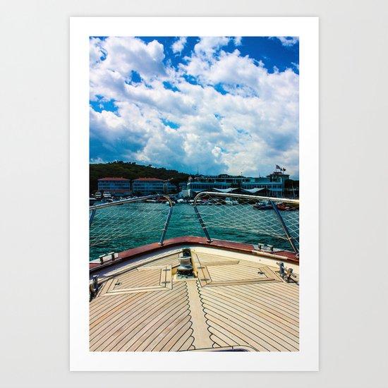 summer. Art Print