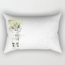 Messager de l'espace Rectangular Pillow